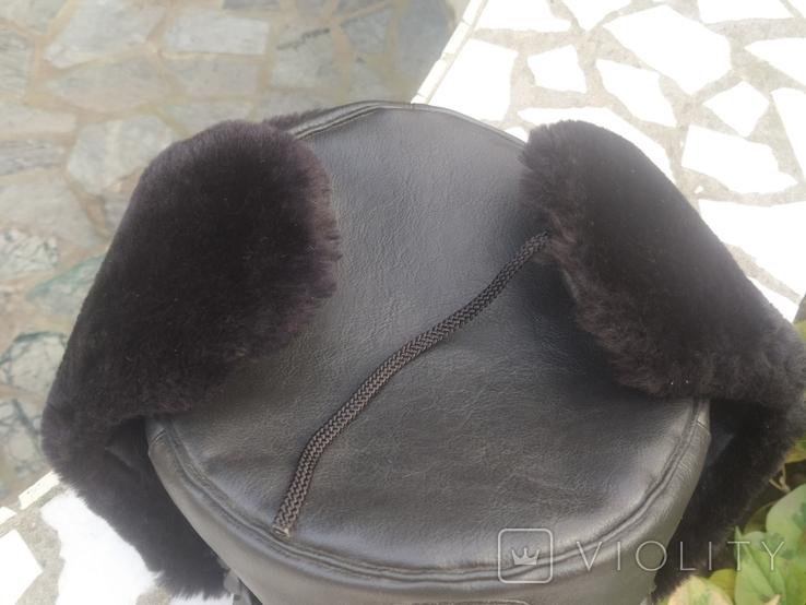 Шапка зимняя милицейская р.59, фото №3