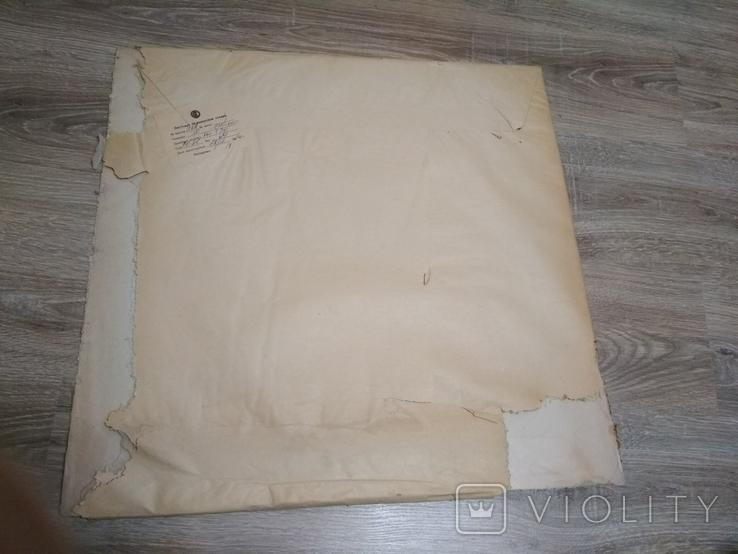 Оргстекло тонкое,лист 60х57 см.,толщина 1 мм, советского времени, в оригинальной упаковке, фото №2