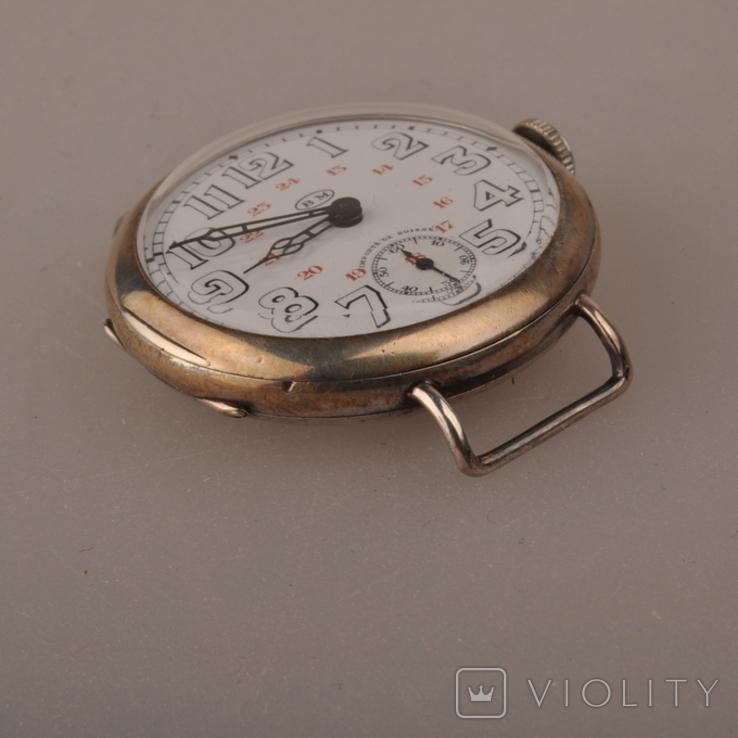 """Часы швейцарской фирмы Omega с маркировкой Baume & Mercier (""""B.M."""" в овале)., фото №6"""