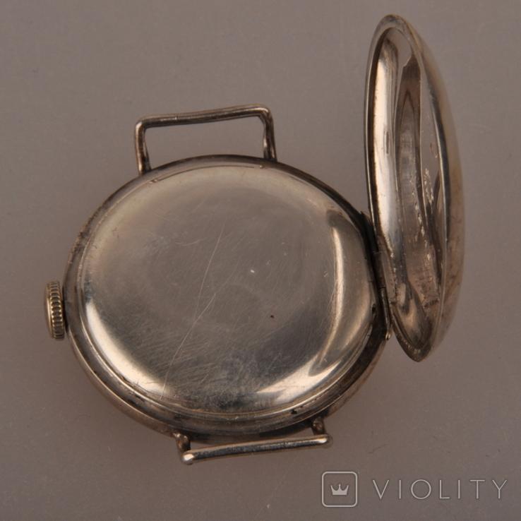 """Часы швейцарской фирмы Omega с маркировкой Baume & Mercier (""""B.M."""" в овале)., фото №11"""