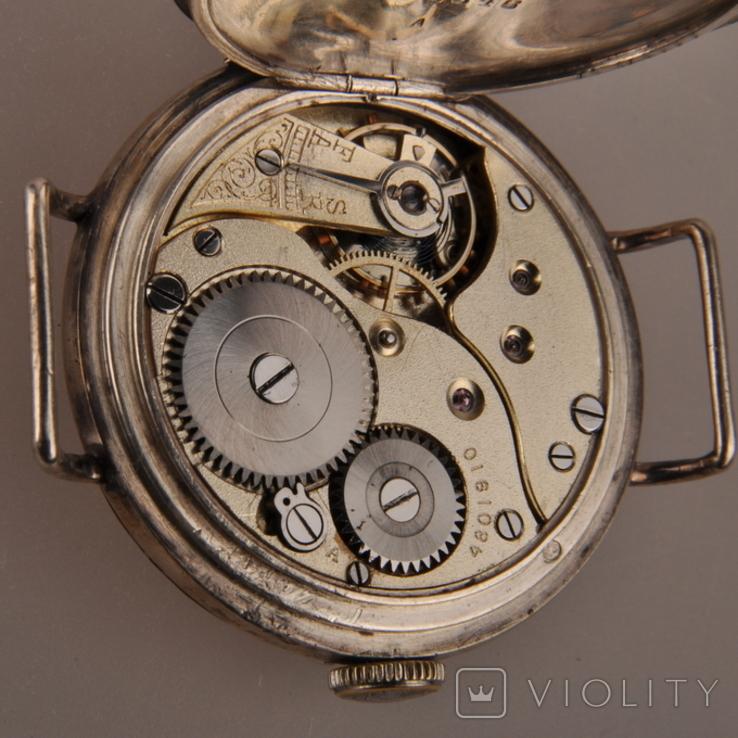 """Часы швейцарской фирмы Omega с маркировкой Baume & Mercier (""""B.M."""" в овале)., фото №13"""