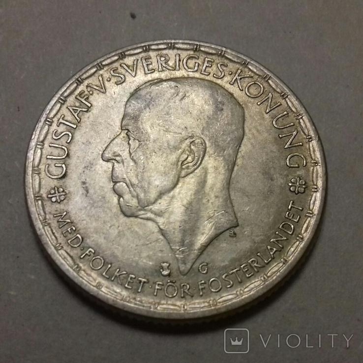 2 крони 1945 G, фото №2