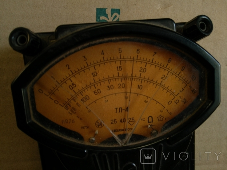 Измерительный прибор СССР, фото №5