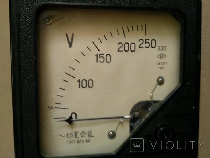 Электро - измерительный прибор СССР, фото №4