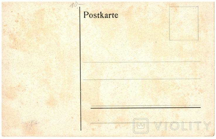 Открытка Строй германских военных До первой мировой войны, фото №3