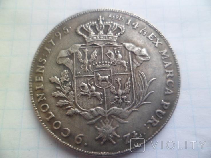 Талер 1795 рік копія, фото №4