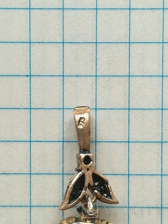 Серебрянные серьги и кулон, фото №11
