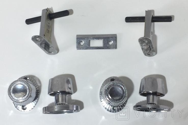 Дверные ручки с фиксацией открывания и защёлкой. СССР ДААЗ-ВАЗ, фото №3
