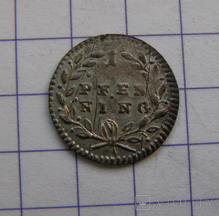 Пфенніг 1767 р. Регенсбург, фото №2