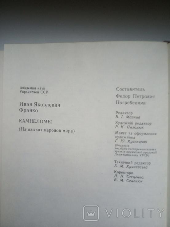 """Іван Франко """"Каменярі"""", фото №8"""