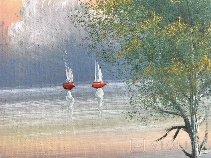 Картина «Морський пейзаж», фото №4