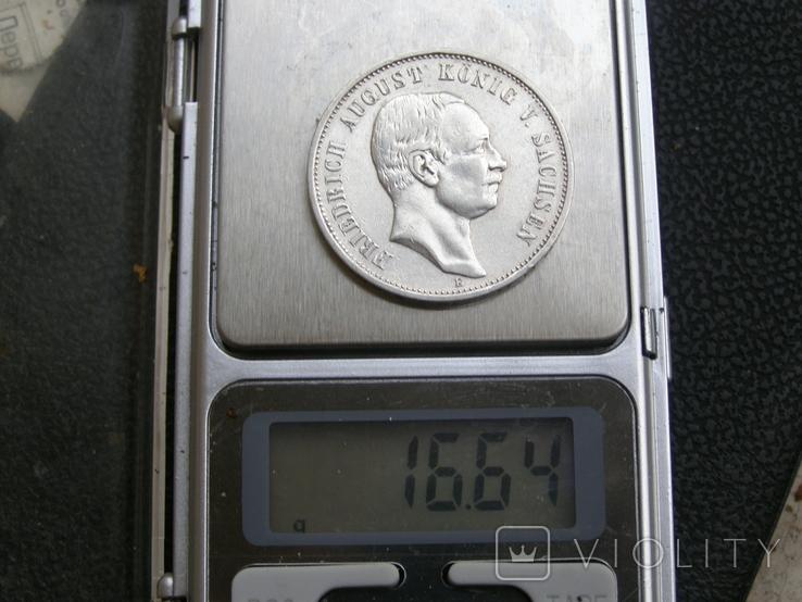 3 марки 1909 Е Саксония. Фридрих Август., фото №9
