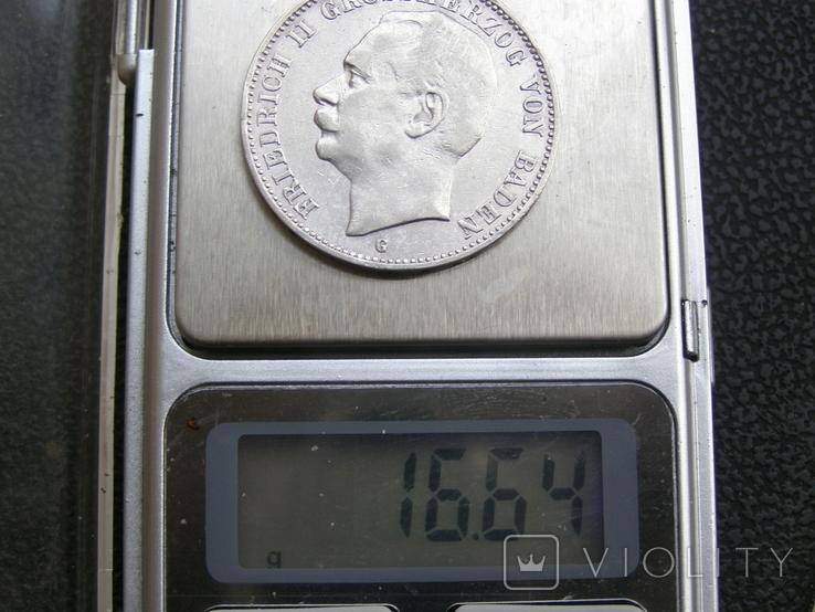 3 марки 1908 G Баден. Фридрих 2., фото №9