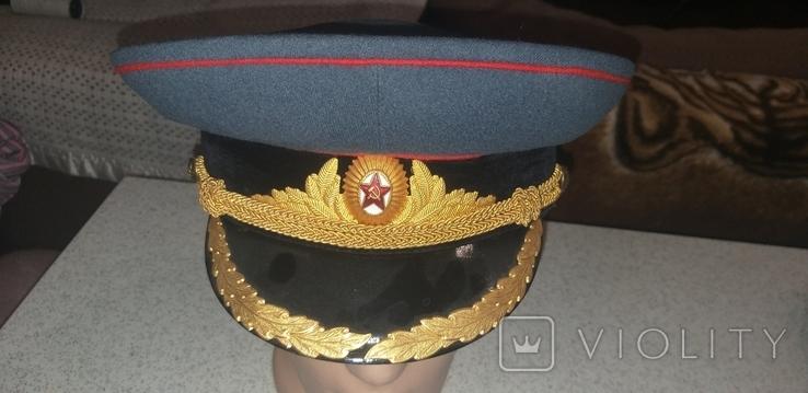 Фуражка АБТВ для парадной формы одежды обр 1955г, фото №2