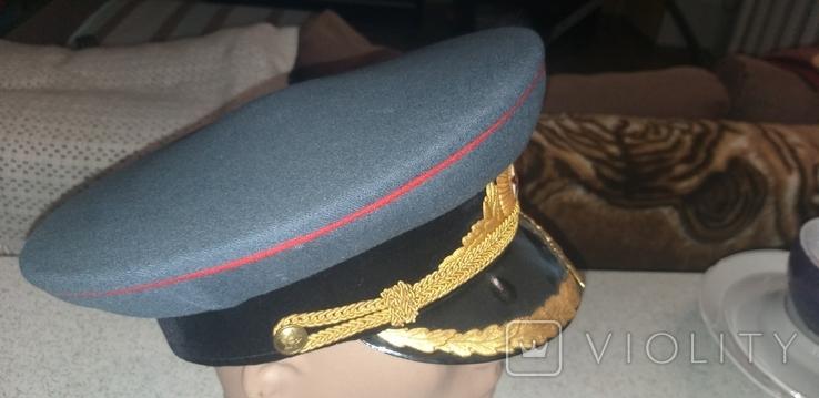 Фуражка АБТВ для парадной формы одежды обр 1955г, фото №3
