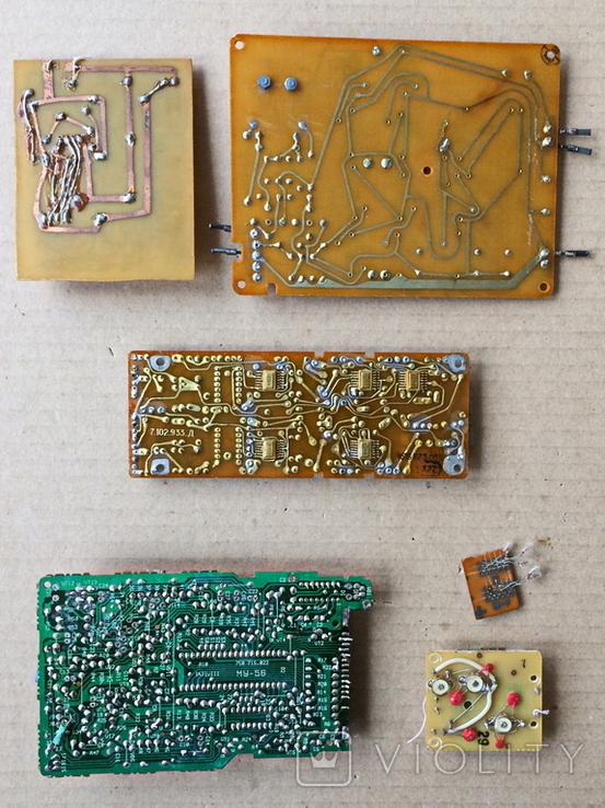 Радиодетали, платы разные., фото №3