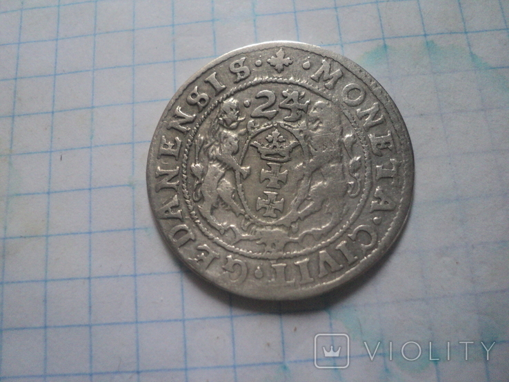 Гданський орт  1624 г, фото №5