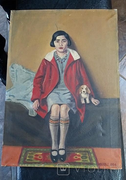 Девушка с собачкой, фото №2