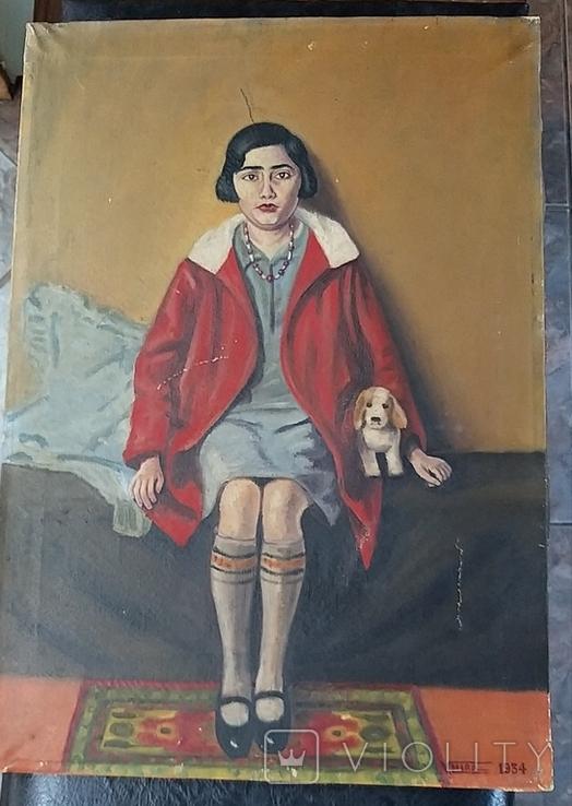 Девушка с собачкой, фото №4