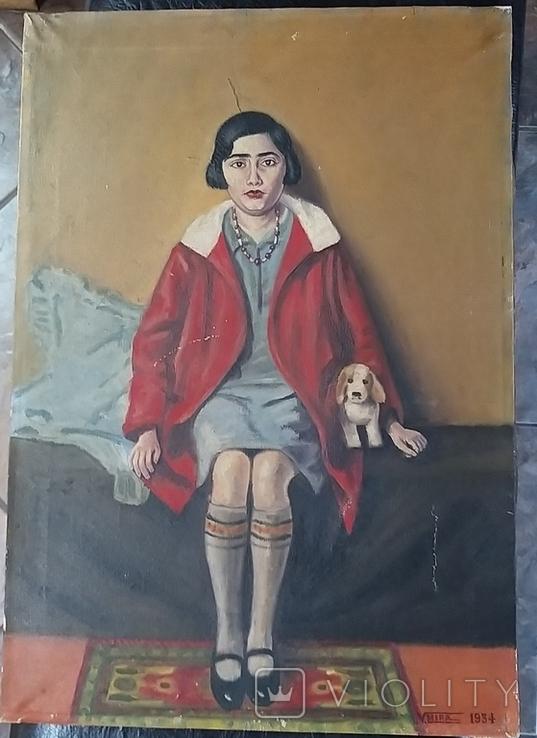Девушка с собачкой, фото №8