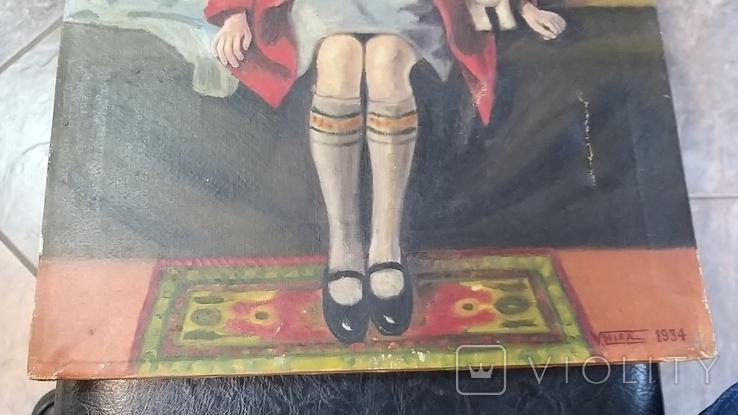 Девушка с собачкой, фото №12