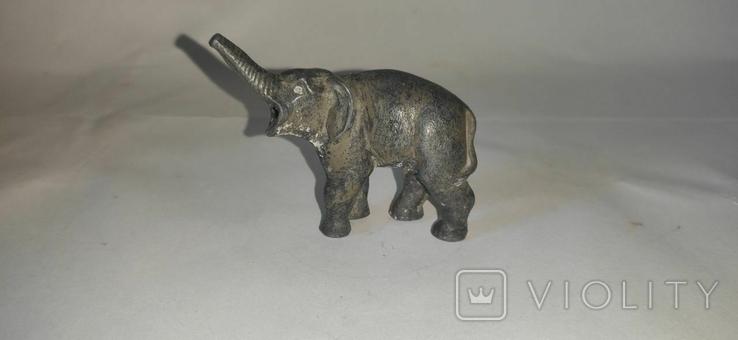 Фигурка слона. Чугун, фото №7
