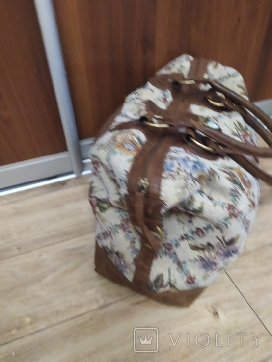 Дорожная сумка.Гобелен.Asos., фото №3