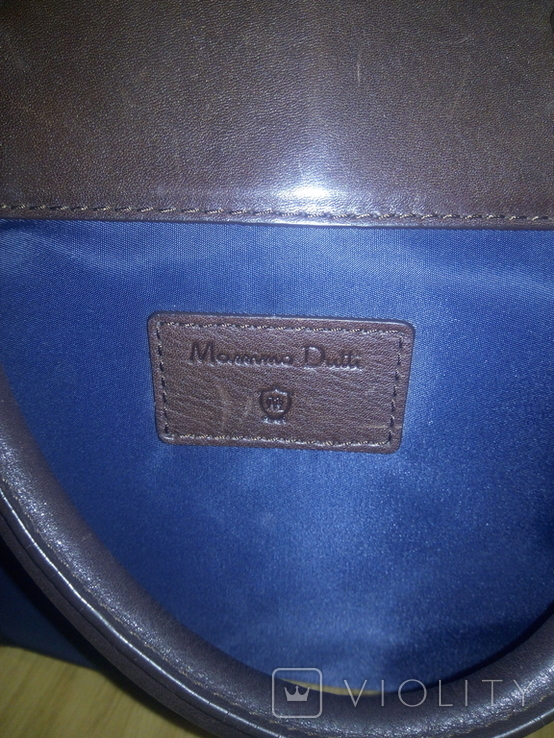 Сумка Massimo Dutti made in India, фото №3