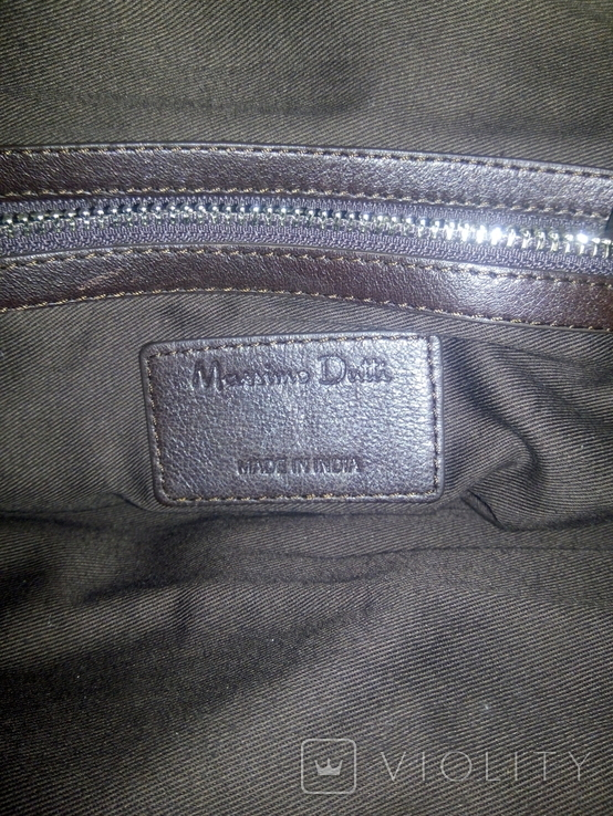 Сумка Massimo Dutti made in India, фото №7