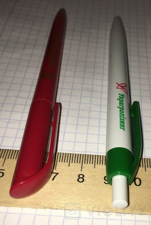 2 брендированные шариковые ручки отель Софиевский Посад, Украгролизинг, фото №9