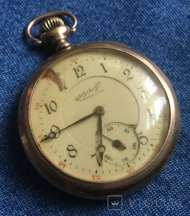 Позолочений Годинник Waters Maybee, Ingersoll, Ont. 1907 року., фото №2