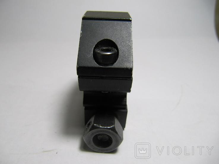 Крепление для прицелов, фонарей, на оружии, имеющем планку Пикатинни. 2 шт., фото №3