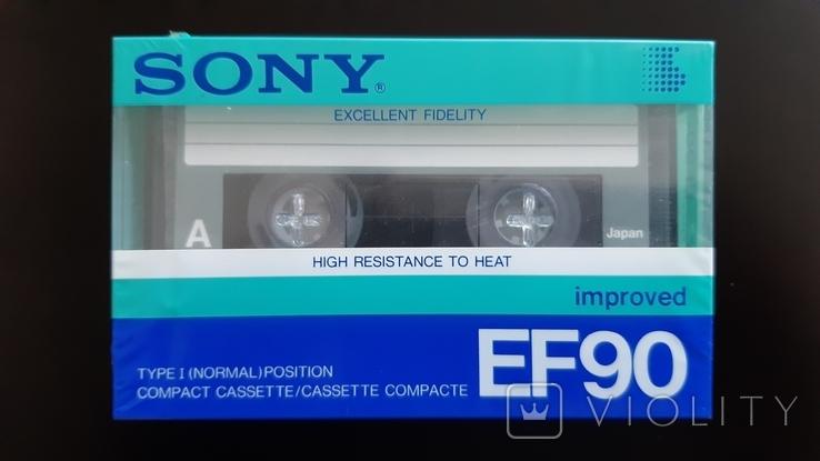 Касета Sony EF 90 (Release year 1986) 4, фото №2