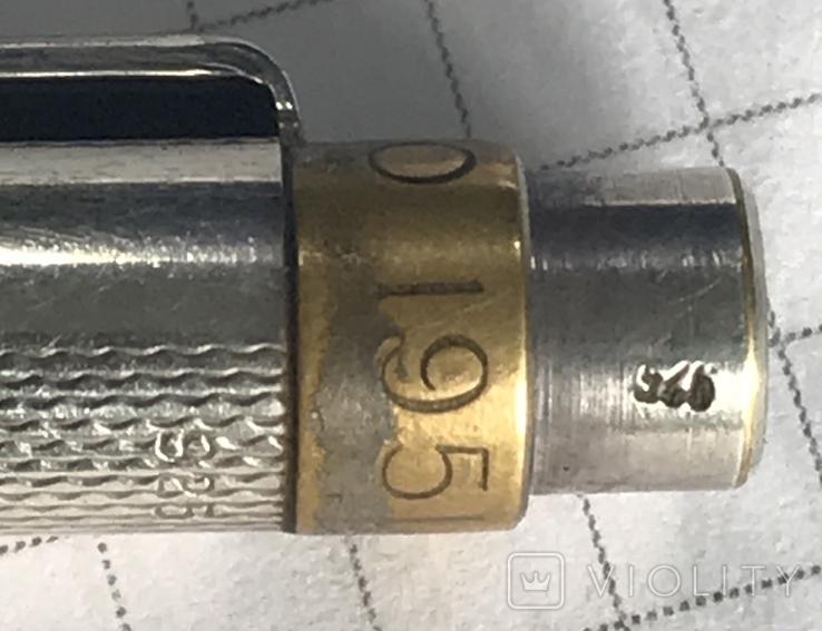 Серебряная ручка RETRO, фото №3