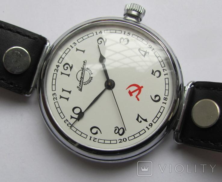 """Часы-марьяж """"Златоустовский часовой з-д."""", фото №7"""