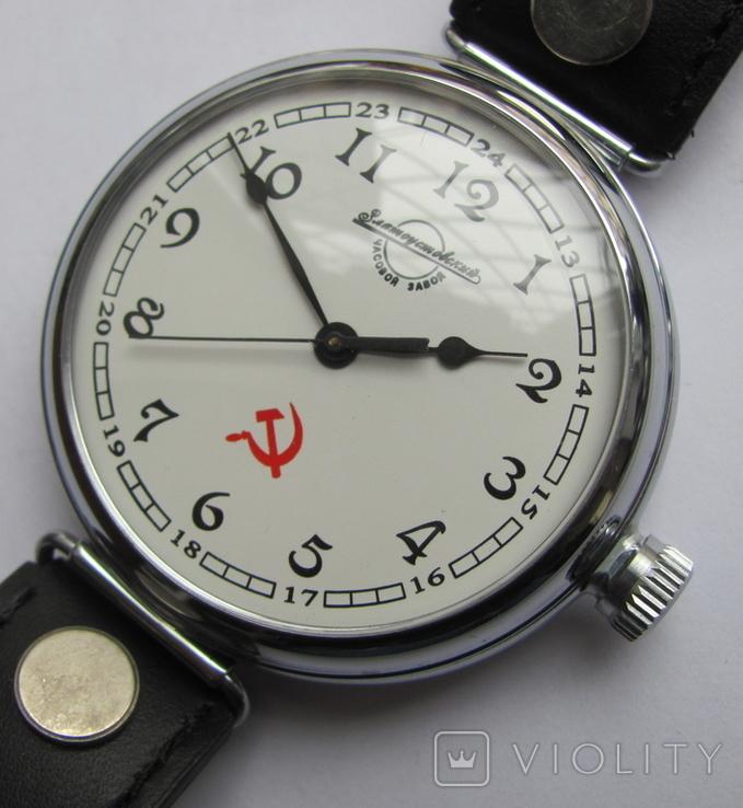 """Часы-марьяж """"Златоустовский часовой з-д."""", фото №8"""