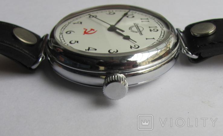 """Часы-марьяж """"Златоустовский часовой з-д."""", фото №9"""