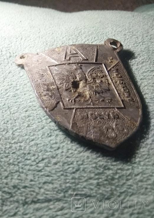 Знак Побор войсковой (Pobor Wojskowy) Wolyn 1939, фото №2