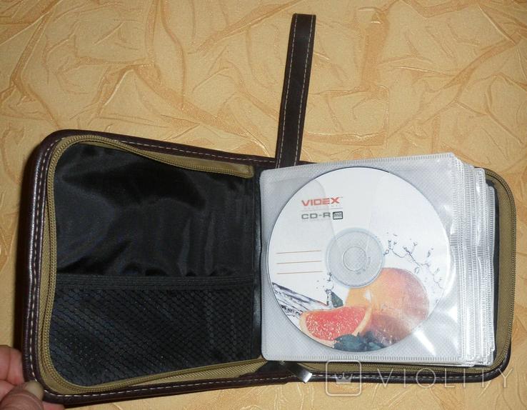Компакт диски и сумка для дисков + бонус., фото №6