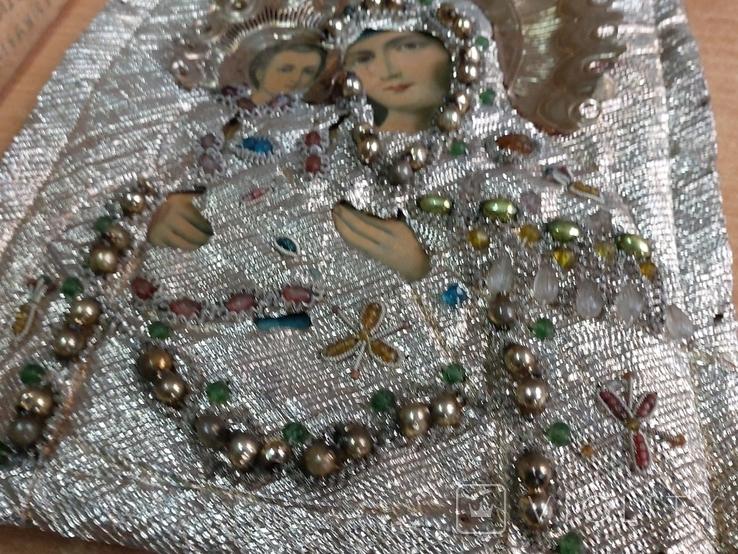 Пресвятая Богородица в окладе, фото №6
