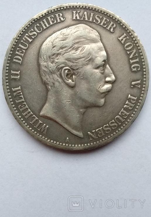 5 марок 1908 года , Пруссия, фото №6