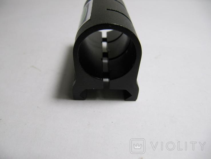 Одинарное крепление для лазерного прицела или фонаря на оружии с планкой Пикатинни., фото №3