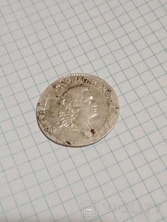 4 гроша 1766 г. f.s.Станислав Август Понятовский 1 злотый, фото №2