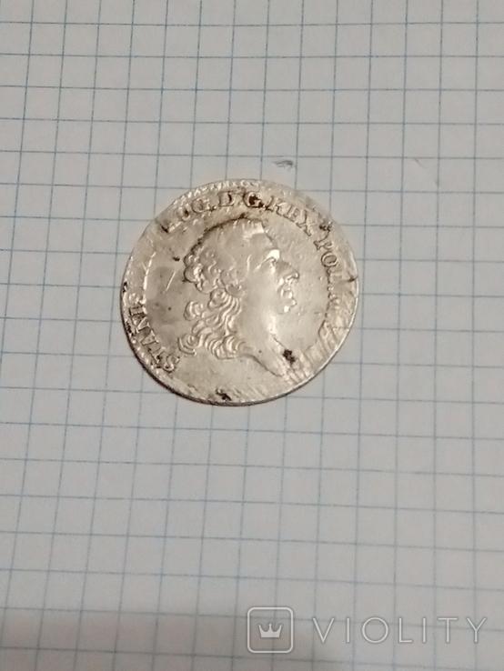 4 гроша 1766 г. f.s.Станислав Август Понятовский 1 злотый, фото №4