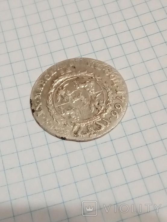 4 гроша 1766 г. f.s.Станислав Август Понятовский 1 злотый, фото №9