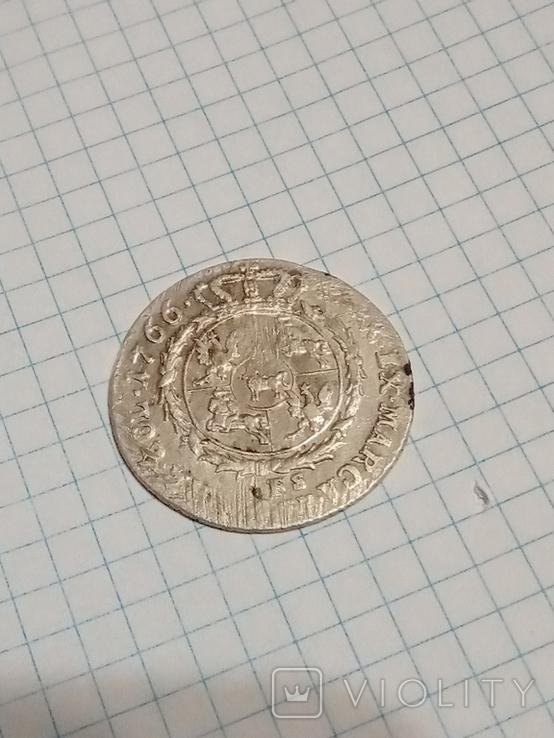 4 гроша 1766 г. f.s.Станислав Август Понятовский 1 злотый, фото №11