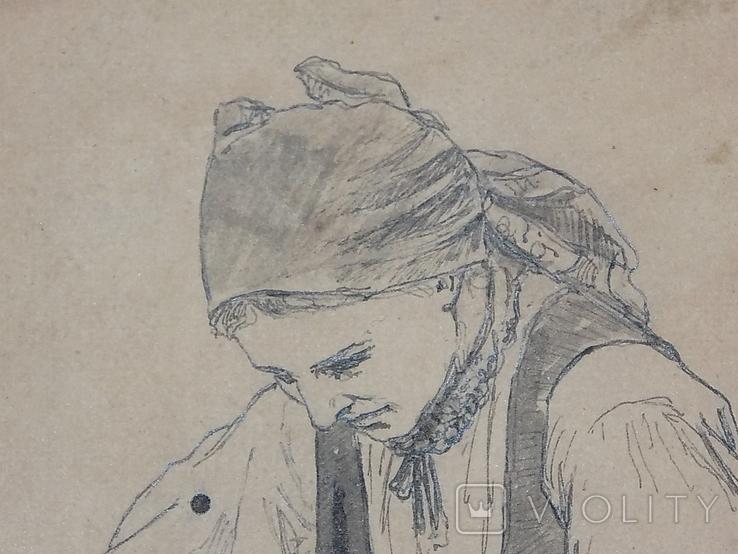 Рисунок Женщина сеятель Польша, фото №10