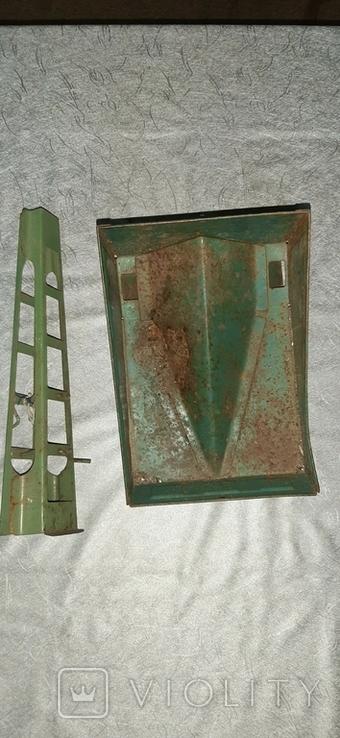 Стрела и кузов металл от старых больших машин, фото №2