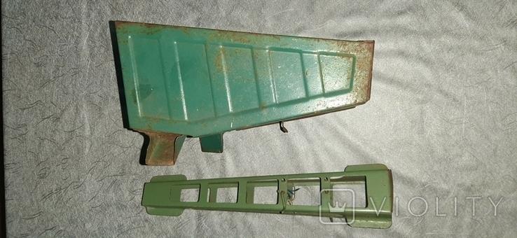 Стрела и кузов металл от старых больших машин, фото №3
