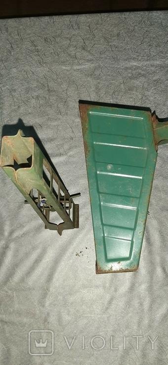 Стрела и кузов металл от старых больших машин, фото №5